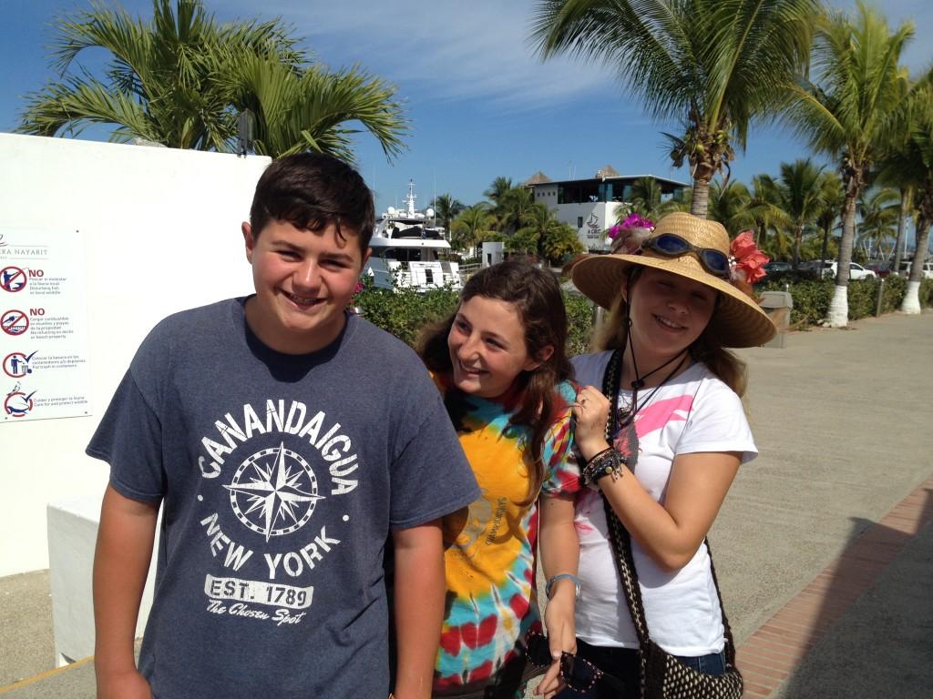 Sean, Sarah & Katya