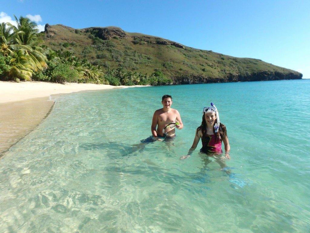 Serious Perfection - Snorkeling in Hanamoenoa Bay, Tahuata