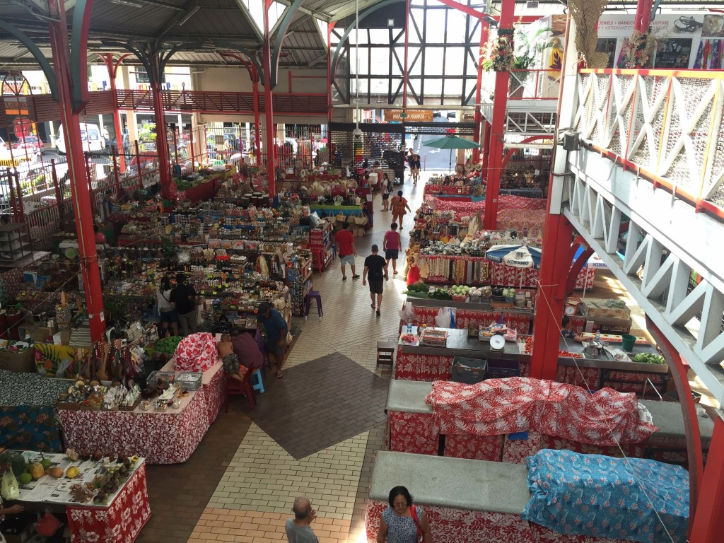 Papeete Grand Marche - Huge daily market with everything, except boat parts