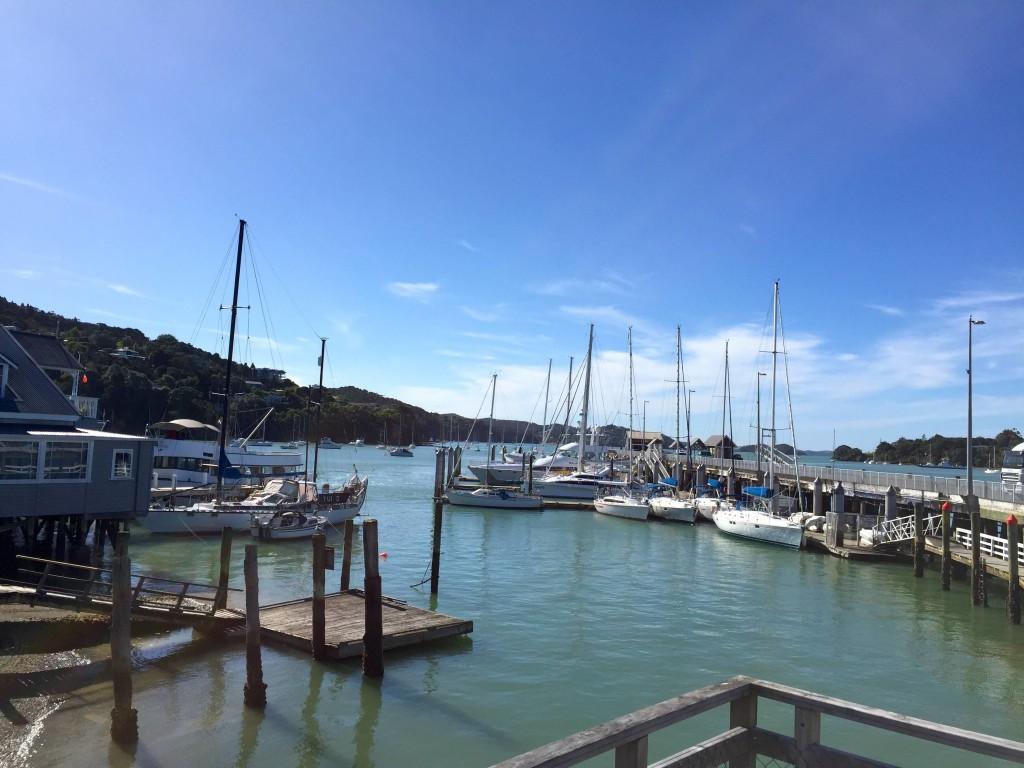 Quaint Harbor Town - The Main wharf in Opua