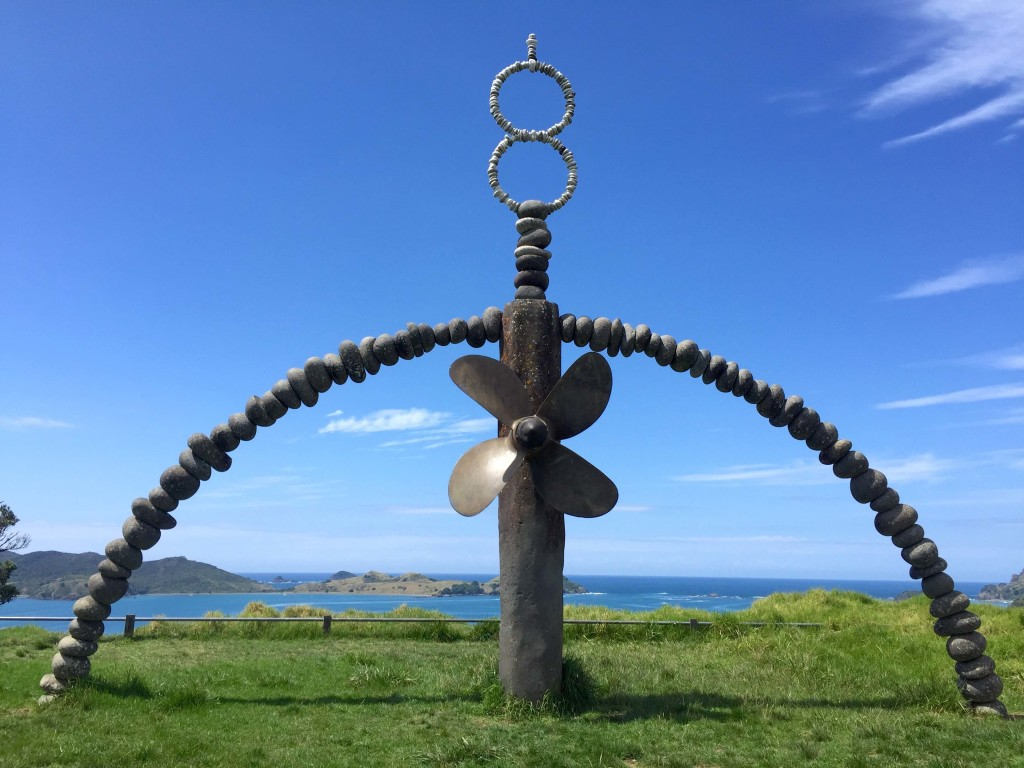 Rainbow Warrior Memorial - Overlooking Matauri Bay, this serene location demands contemplation