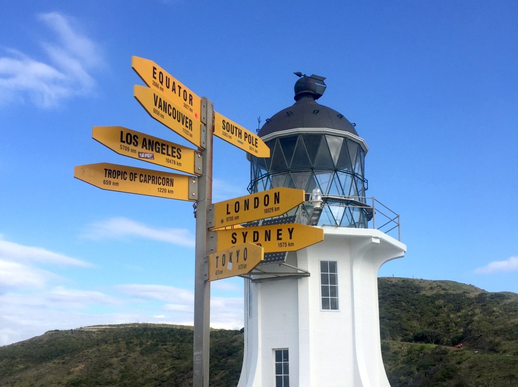 Cape Reinga Lighthouse - We're much closer to the South Pole than we are to home