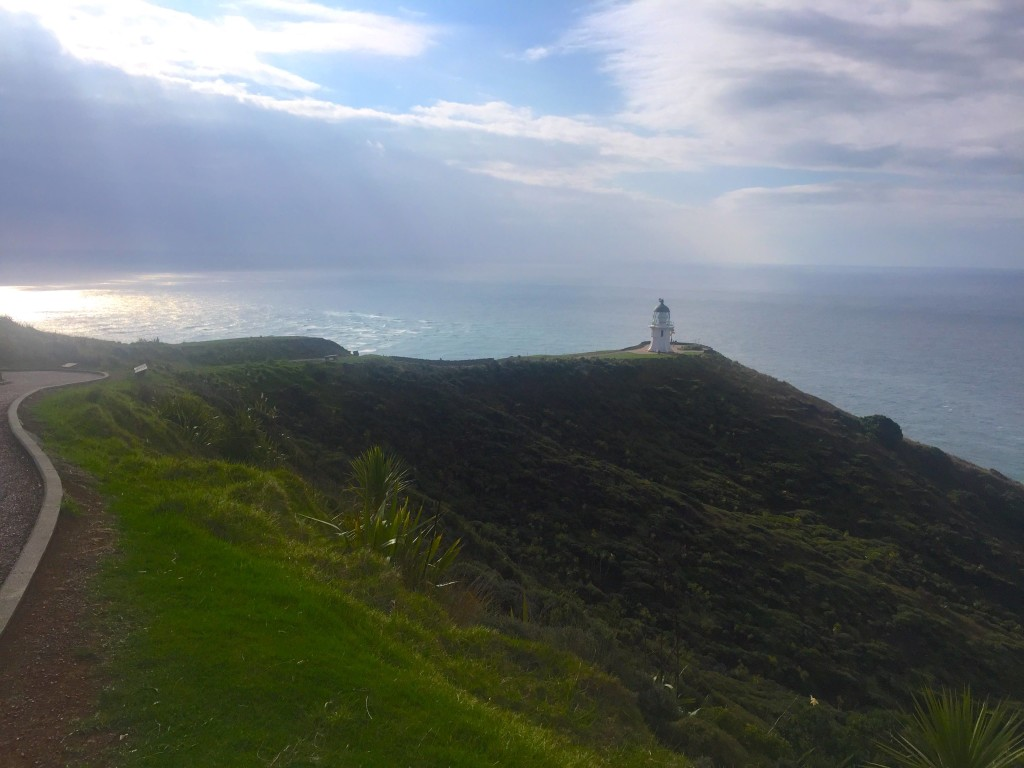 Cape Reinga  - Overlooking the place where the Pacific Ocean meets the Tasman Sea