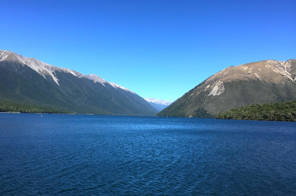 Nelson Lakes - Beautiful clear lakes in the South Island. This one filled with freshwater eels