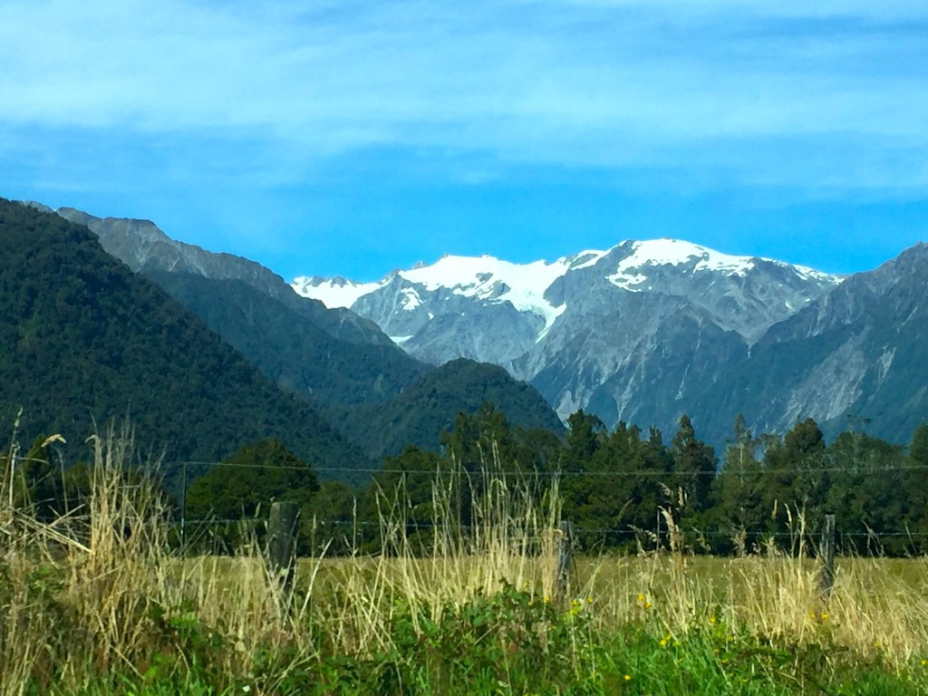 Southern Alps - One of many incredible sights available when you hit the road