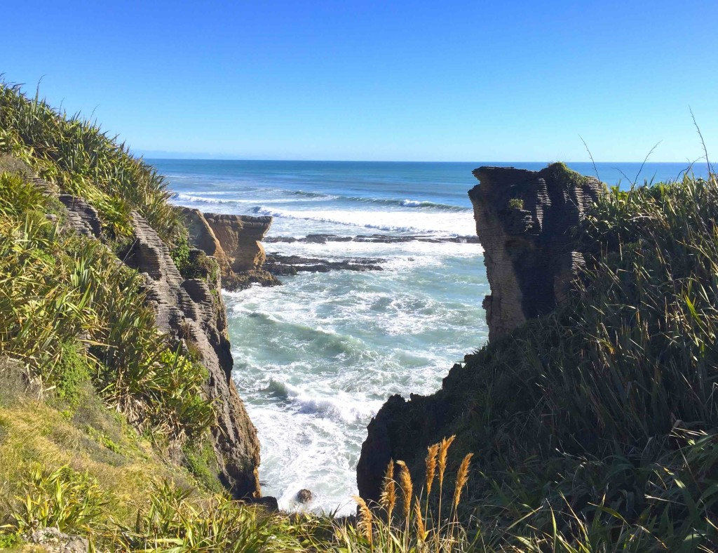 Hokitika - A very cool view point along the rugged West Coast