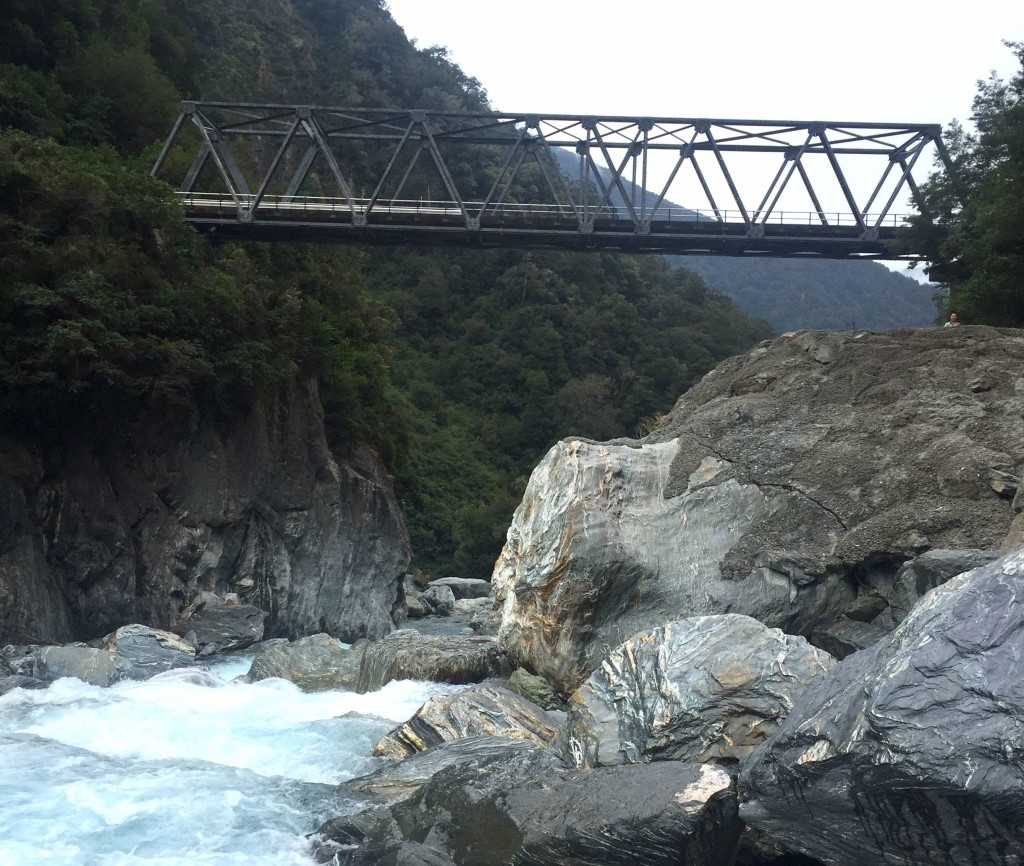 Haast Bridge - One lane and wonderful
