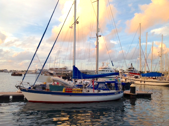 At the Docks - Marina de Papeete, out home away from home