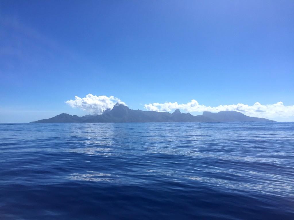 The Island of Moorea - Beconing us back westward